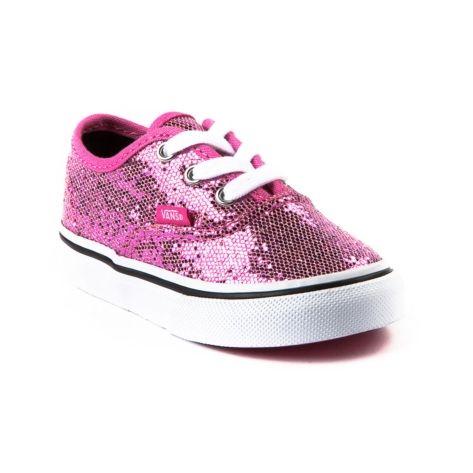 sparkly vans pink