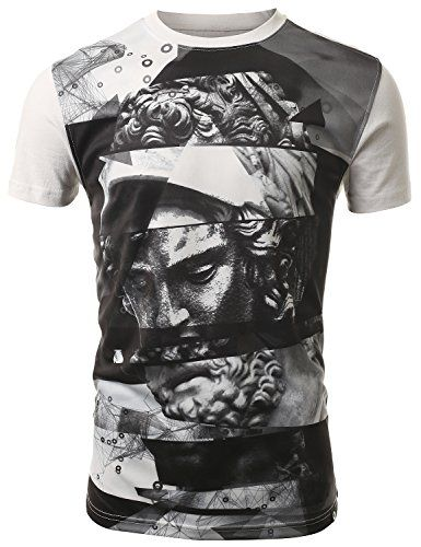 SMITHJAY Mens Hipster Hip-Hop Greek Statue Sublimation T-shirt 2X-LARGE SMITHJAY http://www.amazon.com/dp/B00NI6TWMU/ref=cm_sw_r_pi_dp_dKAjub01QVX3Y