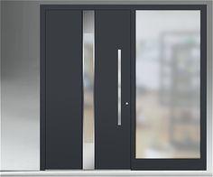 Serie INOXA - Intelio (M24 - RAL 7016 Anthrazitgrau) | Haustür ...