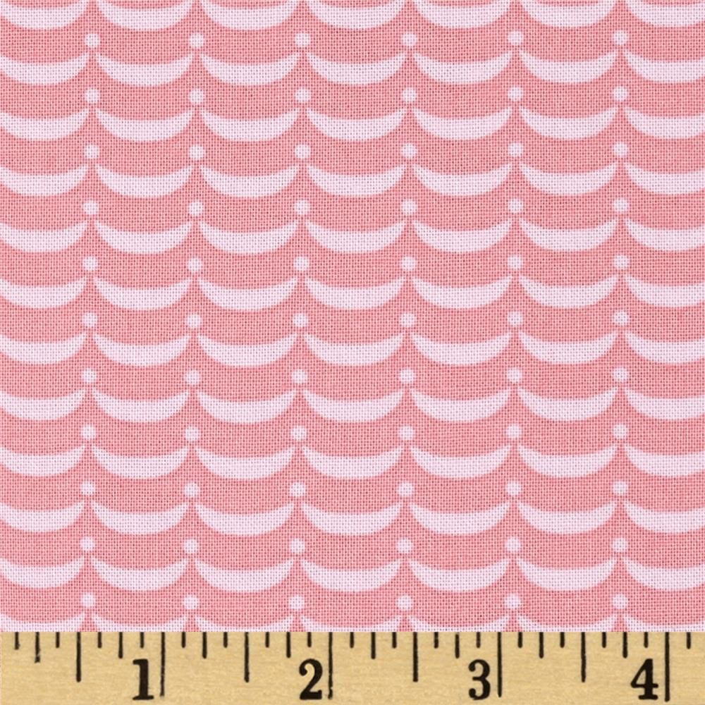 Magical Mermaid Waves Pink from @fabricdotcom  Designed by Lollipop Prainbow for Marcus Fabrics, this cotton print fabric is perfect for quilting, apparel and home decor accents. Colors include shades of pink.