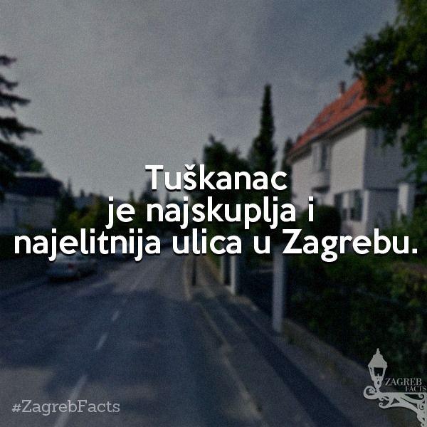 Tuskanac Je Srediste Najskupljih Nekretnina Te Bogatih I Mocnih Stanara Zagrebfacts Tuskanac Tuskanac Ulicatuskanac Zagreb Croatia Croatian
