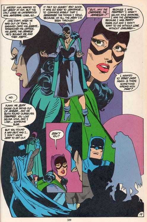 The Story Of Batman And Catwoman Brave And The Bold Joe Staton