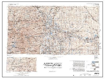 Compass USGS Historic trail map of the Greeley 1 degree by 2