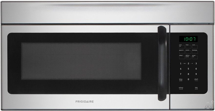 Frigidaire 1 6 Cu Ft Over The Range Microwave With 1 000 Watts Ffmv162l Range Microwave Over The Range Microwaves Microwave Ovens