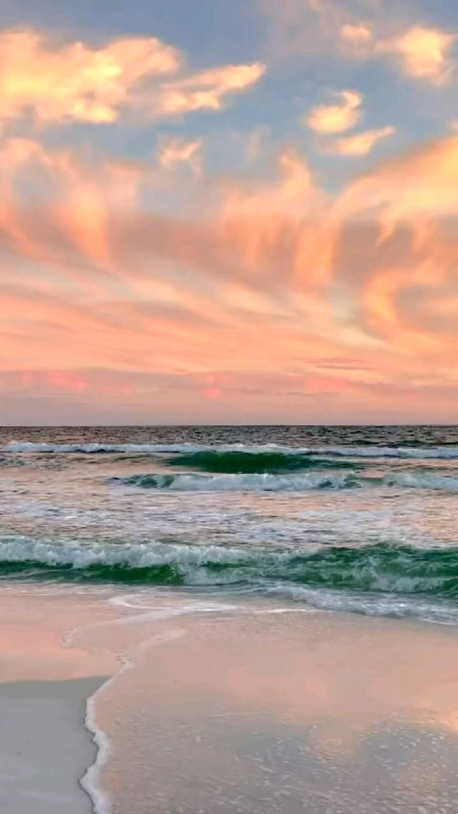 Sunset at the Beach ⛱���