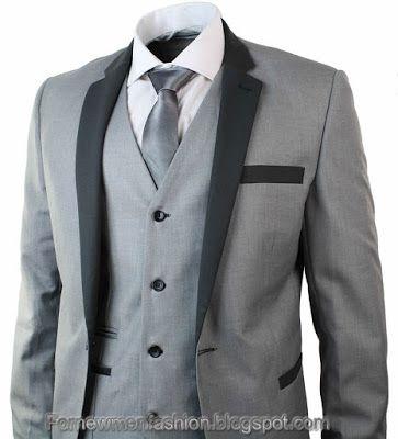 For New Men Fashion: For Men Three Piece Suits Designs | Men Pants ...