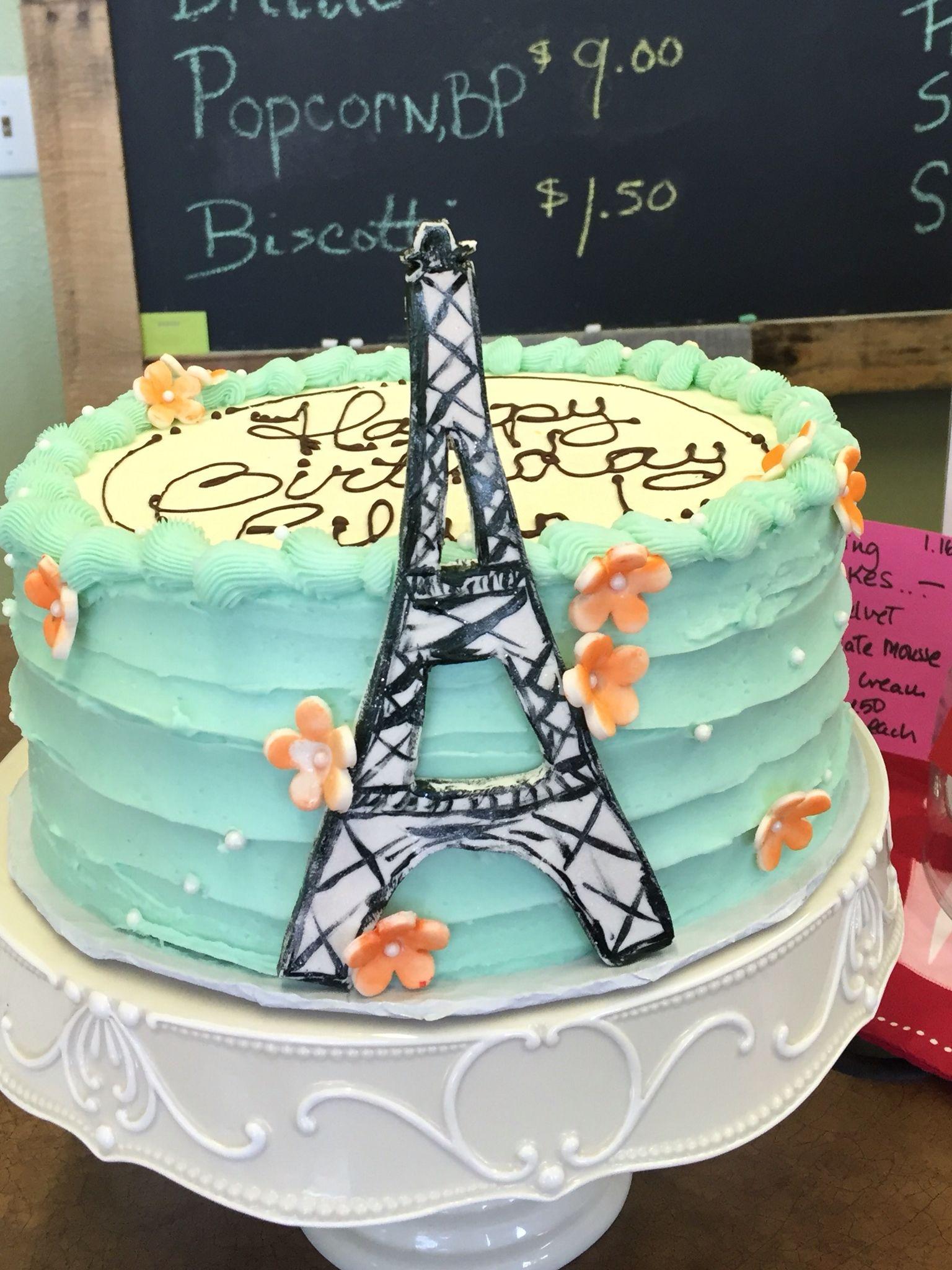 Birthday Cake For A Paris Loving Teen Tdo Stuff