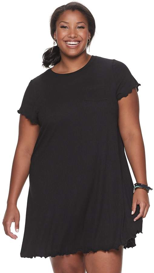 Juniors\' Plus Size SO® T-Shirt Dress | Products in 2019 ...