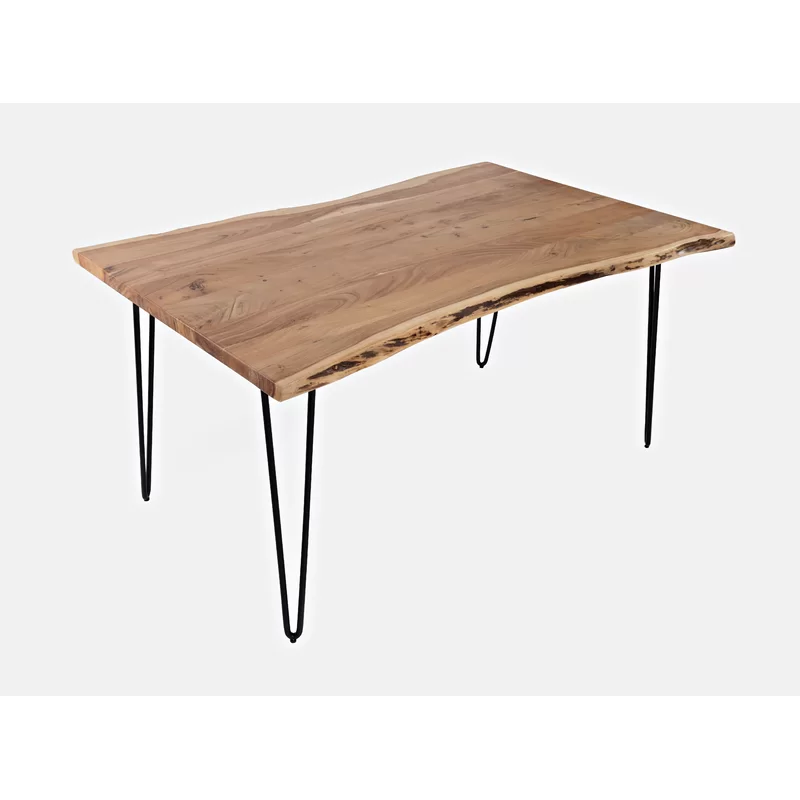Lolotoe Counter Height Acacia Solid Wood Dining Table In 2020