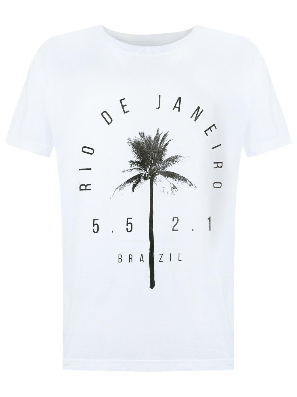 Osklen Camiseta com estampa | Camiseta osklen, Camisas
