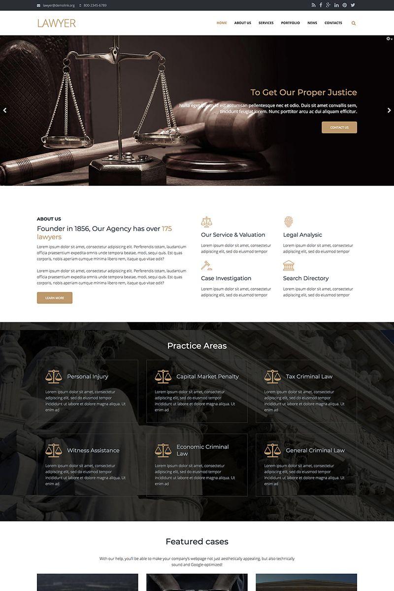 Lawyer Firm Premium Drupal Template 67569 Lawyer Website Design Law Firm Website Law Firm Website Design