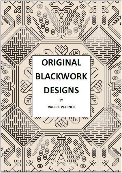 Original blackwork designs needlework patterns