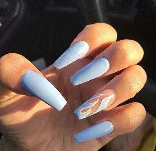 Best Acrylic Nails For 2017 54 Trending Acrylic Nail Designs Best Nail Art Best Acrylic Nails Nail Art Wedding Gorgeous Nails