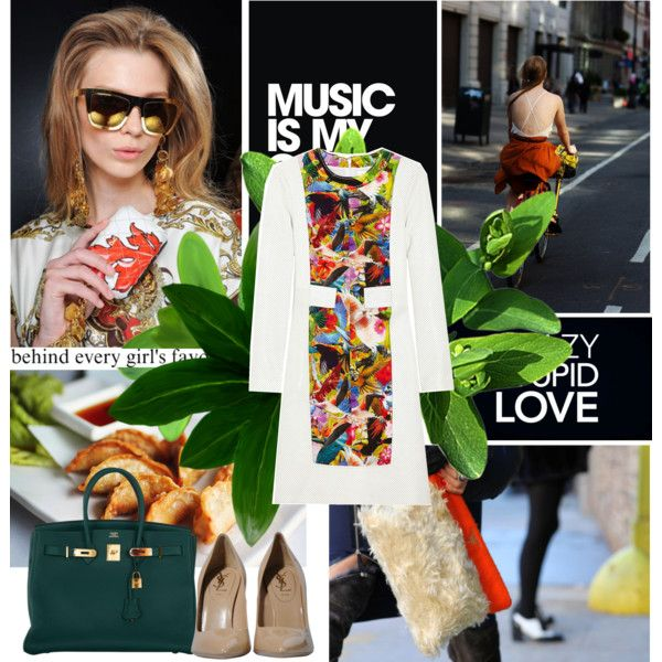 Music is my only drug 16/01/2014, created by azi-izbassarova on Polyvore