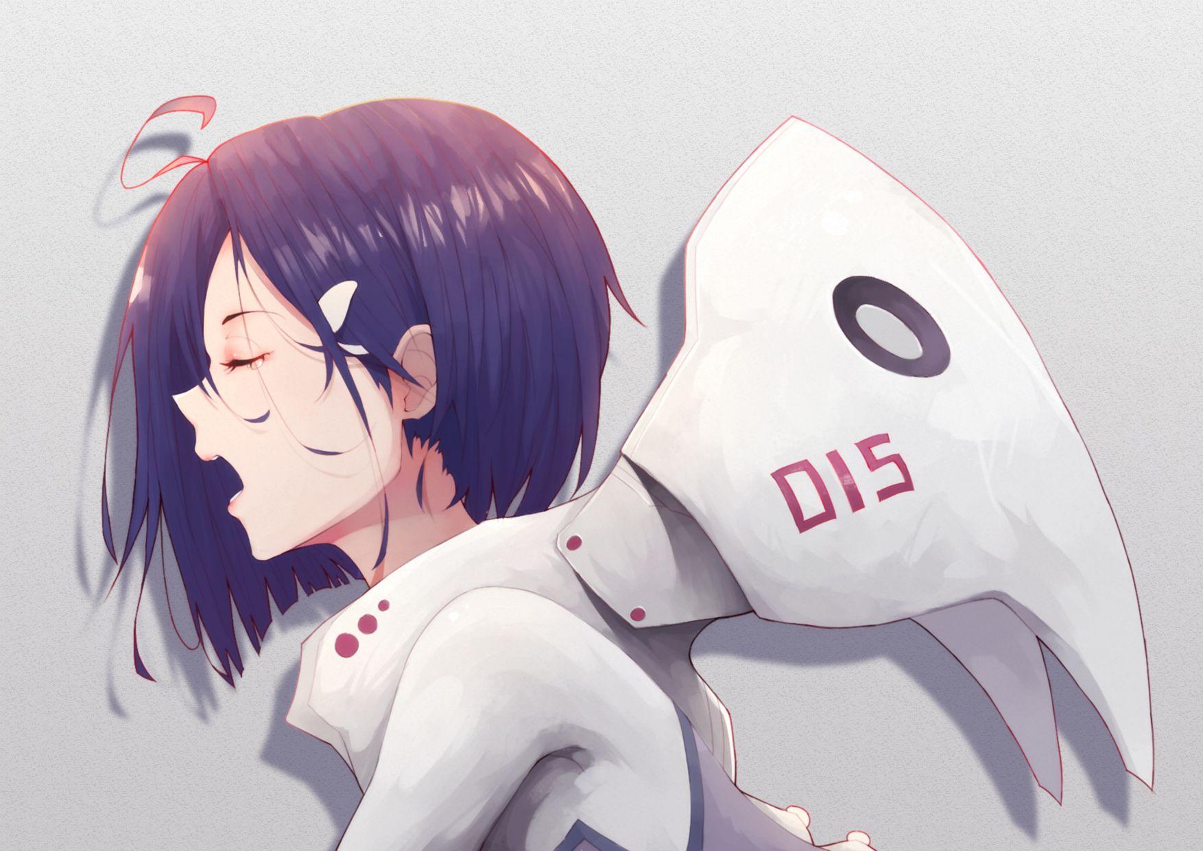 Anime 1754x1240 anime ichigo darling in the franxx anime