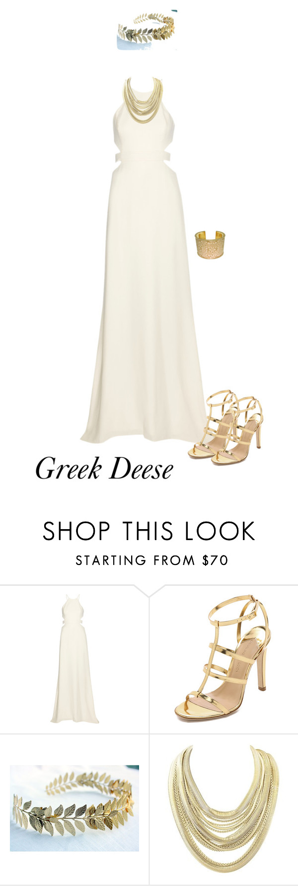 """greek deese halloween costume"" by pocca liked on Polyvore"