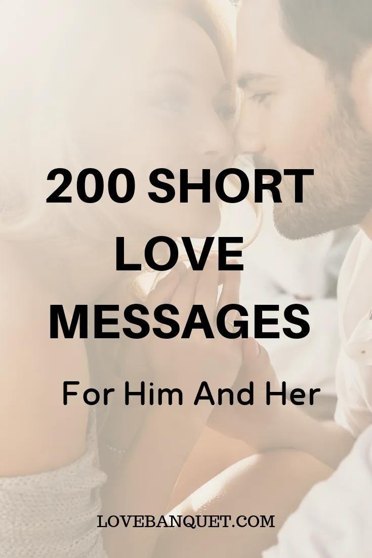 Short Love Messages Love Messages Romantic Love Messages Love Messages For Husband