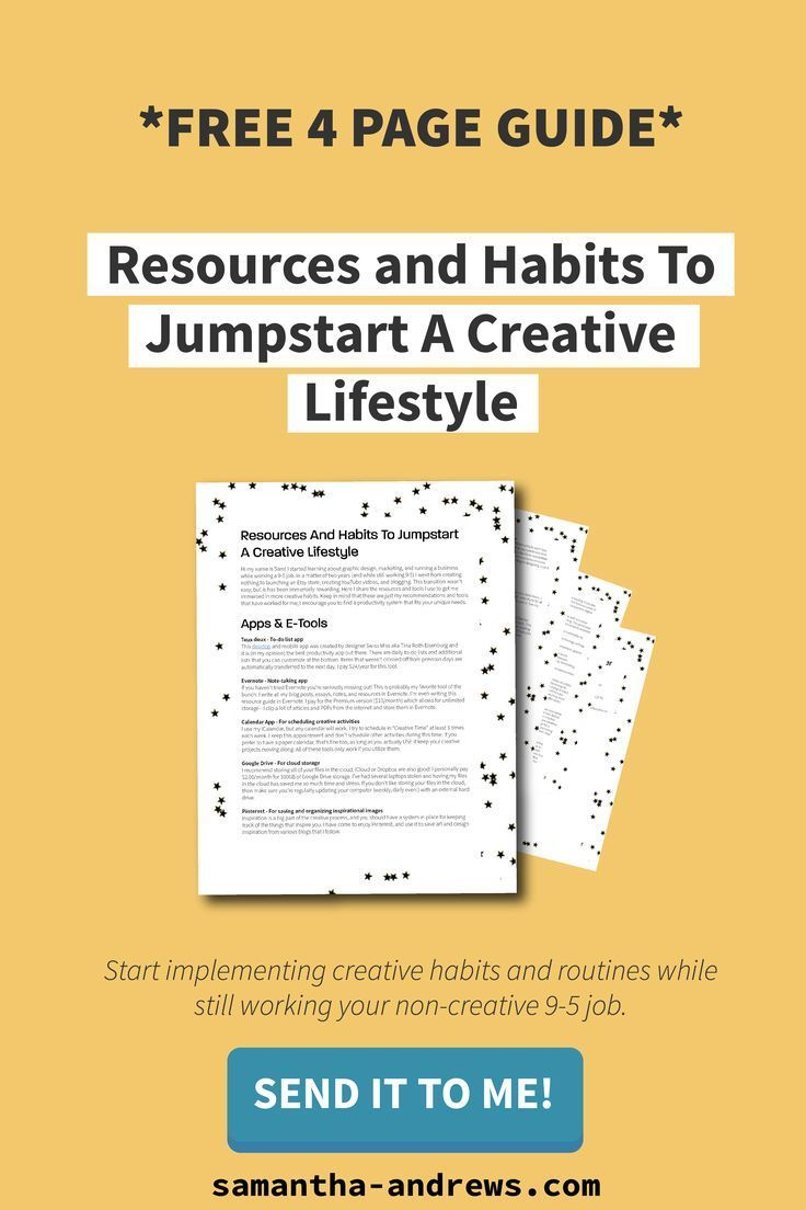 Free 4 Page Guide Resources And Habits To Jumpstart A