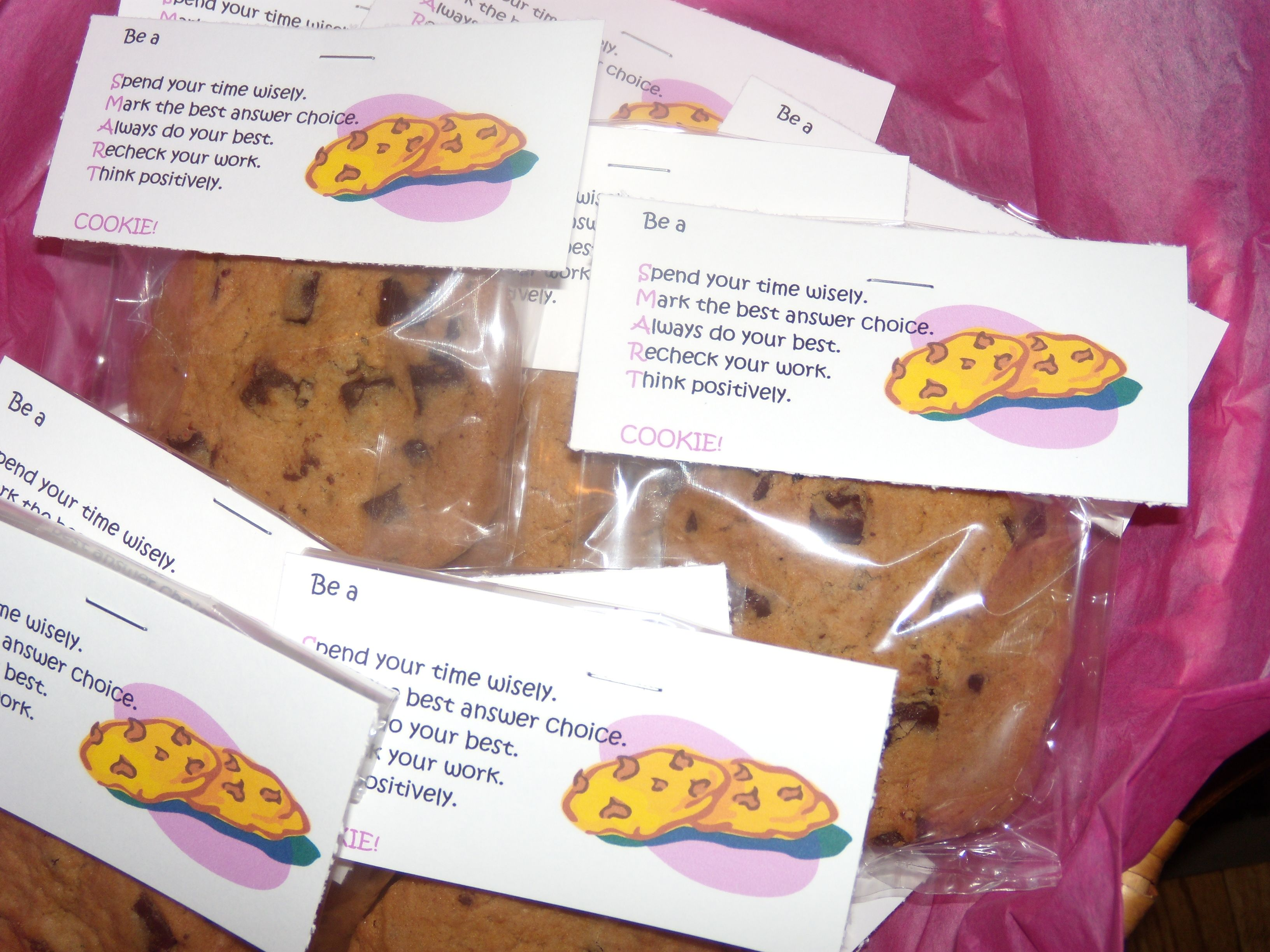 SMART Cookies-Motivation for test-takers | Cool School ...