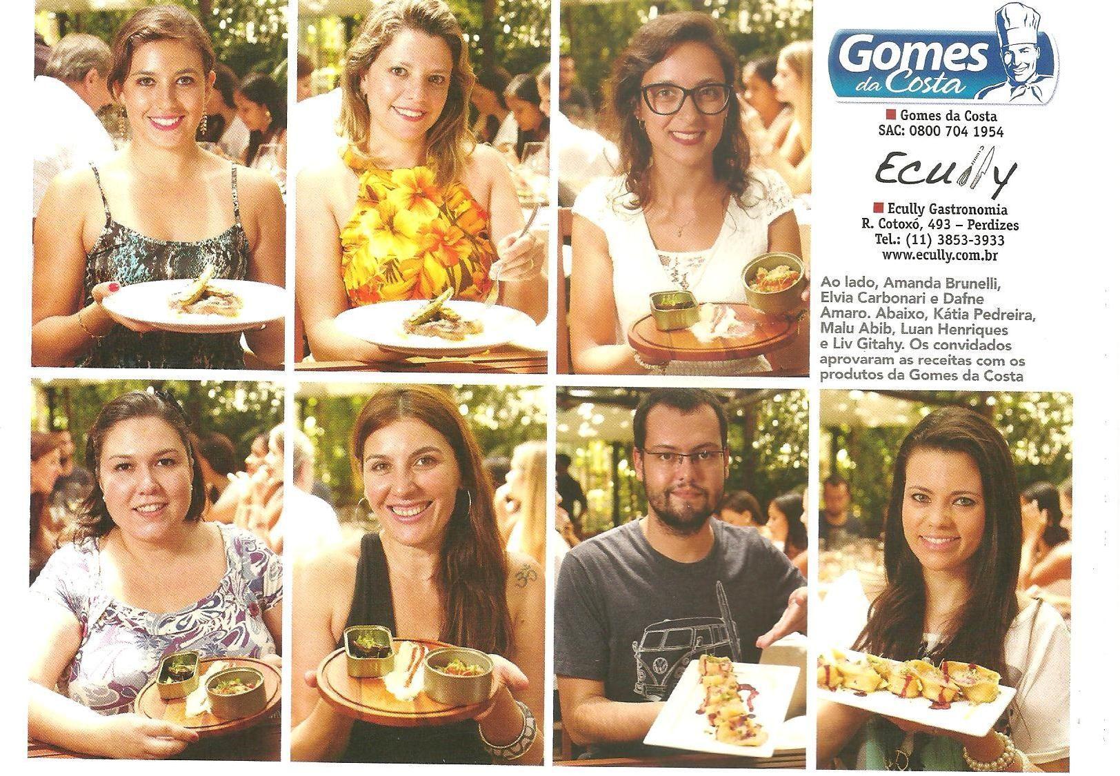 Degustação Gomes da Costa, com Revista Gowhere no Ecully Gastronomia.