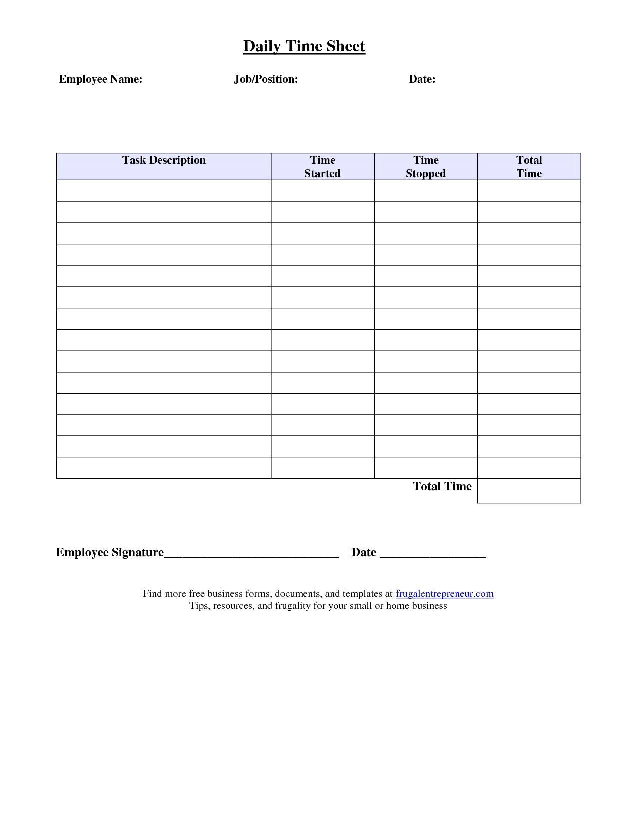Job Sheet Format Excel Best Photos Of Job Time Sheet Template6 Timesheet Template Labels Printables Free Templates Templates