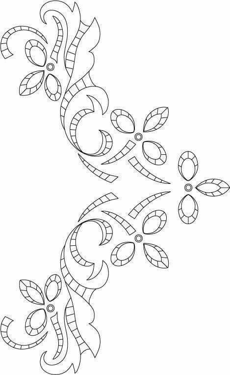 Pin de lilia barbara en richeliu pinterest bordado - Cenefas para dibujar ...