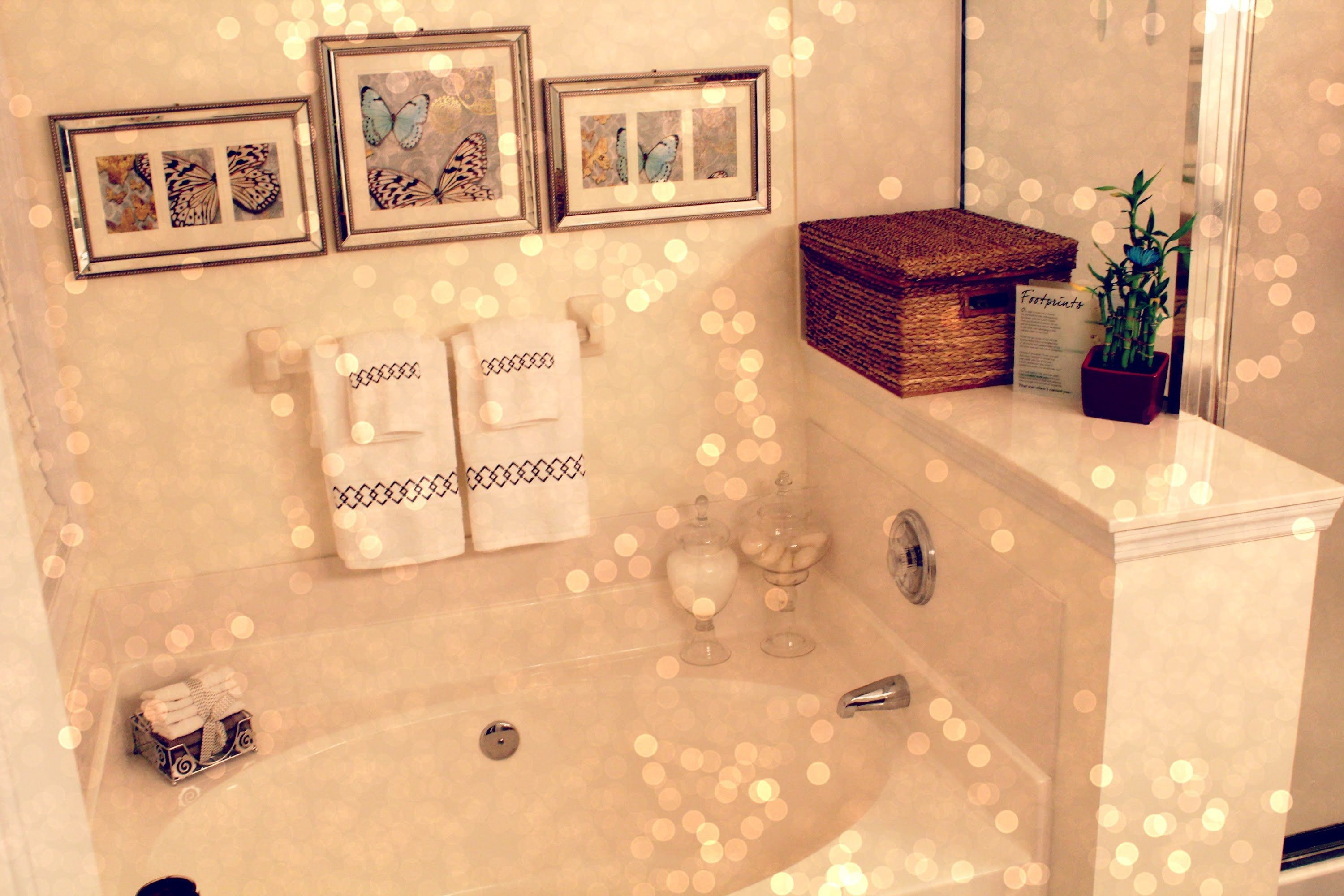 decorating ideas on budget tour bathroom very pin a friendly small decor