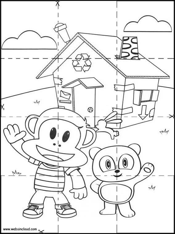 Puzzles Rompecabezas para imprimir para niños Julius Jr 7 | puzzle ...