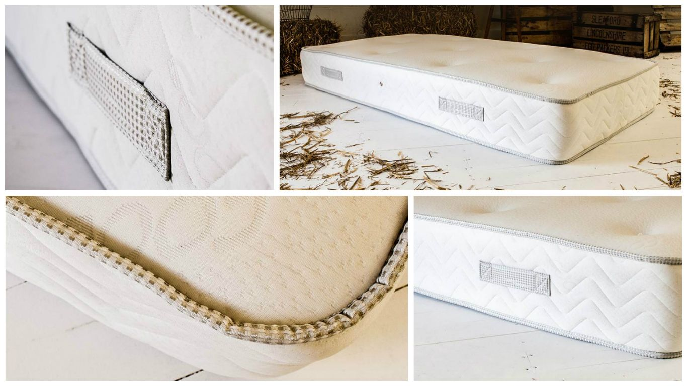 our open coil mattress british handmade mattresses pinterest