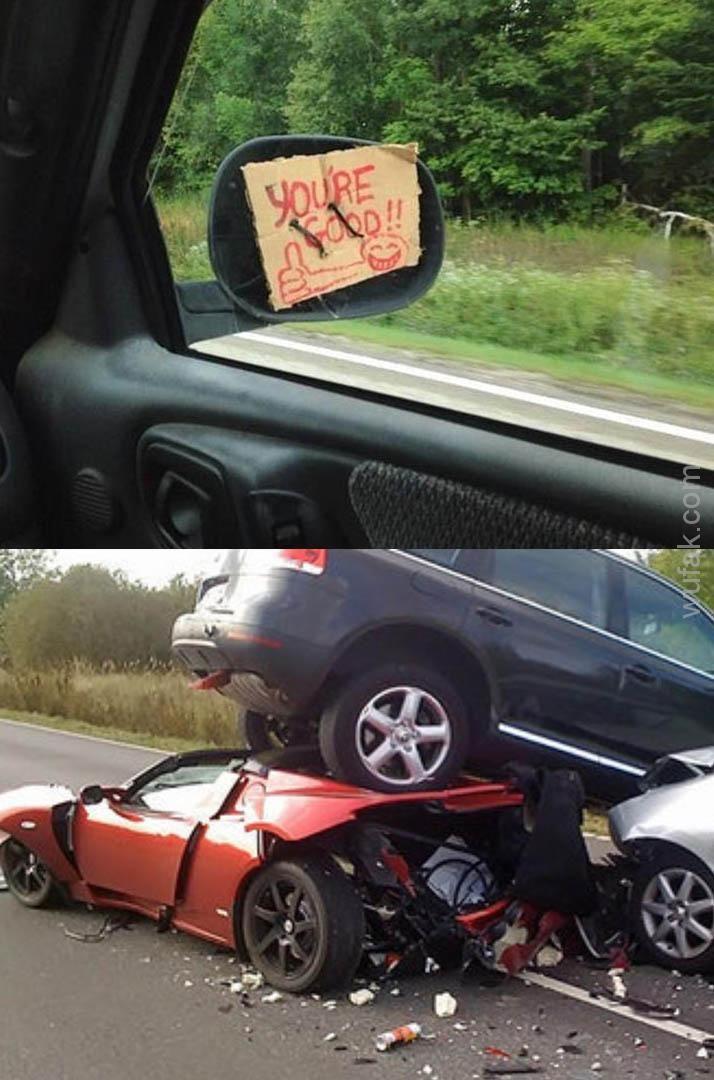 amazing car mod terrible car crash httpswwwwufak
