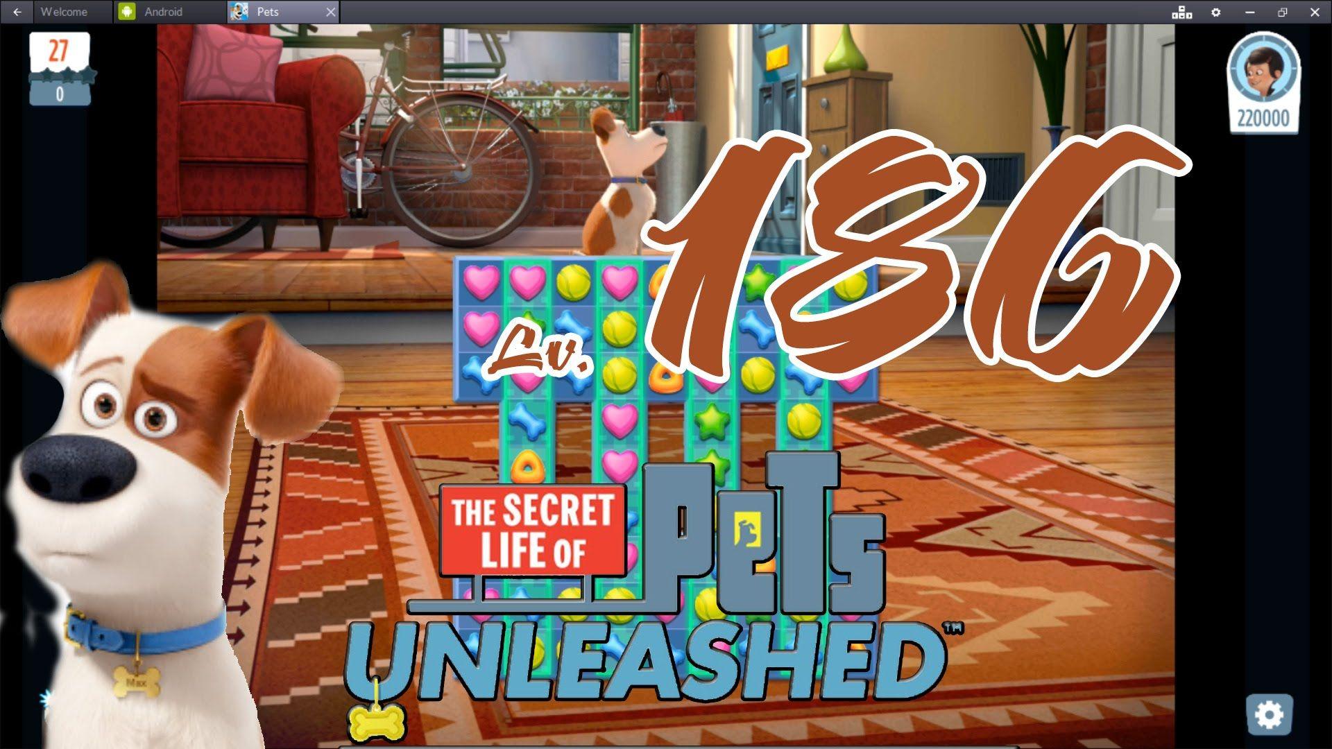 Pets Unleashed - Level 186 (1080p/60fps)