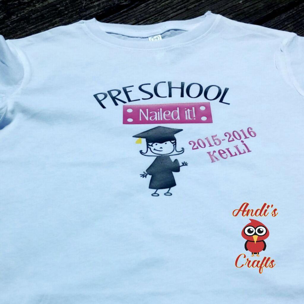 c82ebdb7 Kindergarten Graduation Shirt, Funny Kindergarten, Nailed It Boys, Nailed It  Girls, Personalized Kids TShirt, Kids Apparel by AndisCraftsOnline on Etsy
