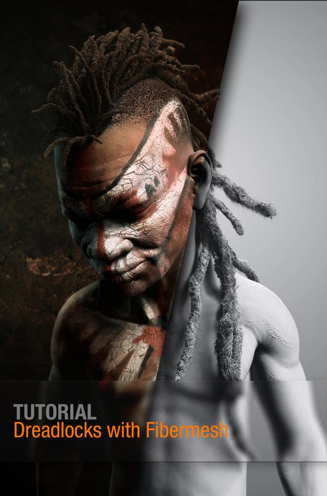 ZBrush Tutorial: Dreadlocks with Fibermesh | ZBrush Tuts