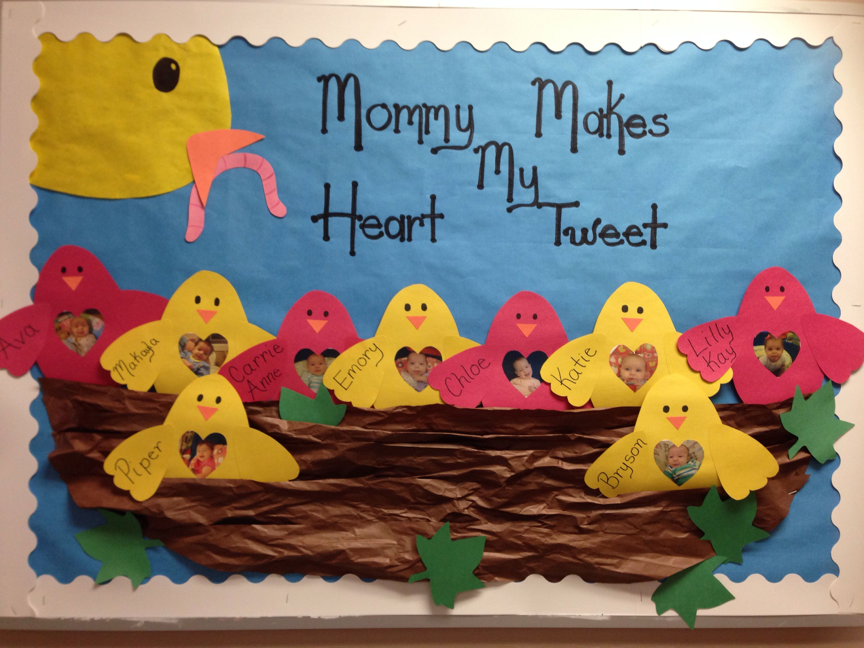 Mother S Day Bulletin Board With Images
