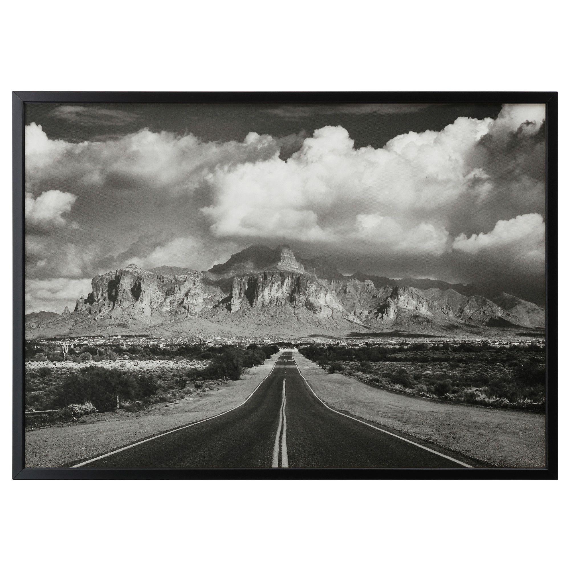 BJÖRKSTA, Gerahmtes Bild, Superstition Mountains, USA, schwarz Jetzt ...