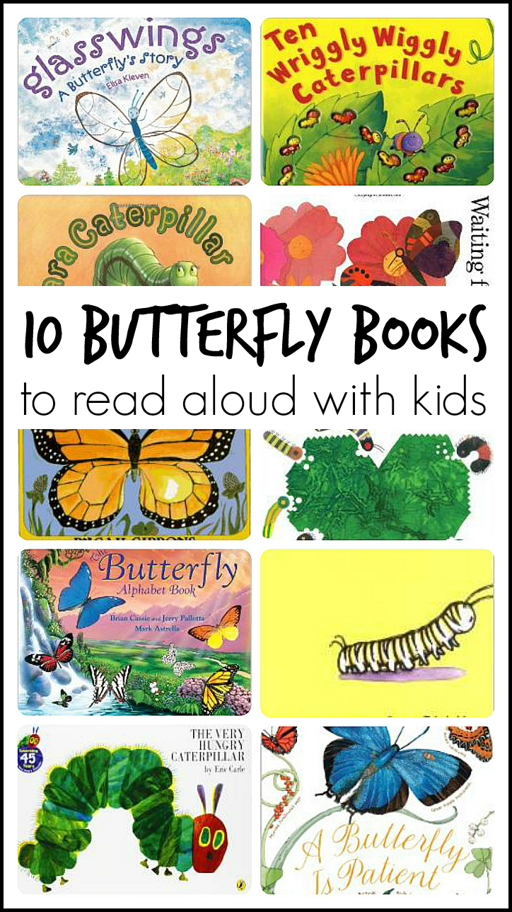 Kindergarten Books: 10 Butterfly Books For Reading Aloud With Kids
