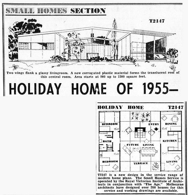 T2147 | The Age - Holiday Home of 1955 | MidCentArc | Flickr