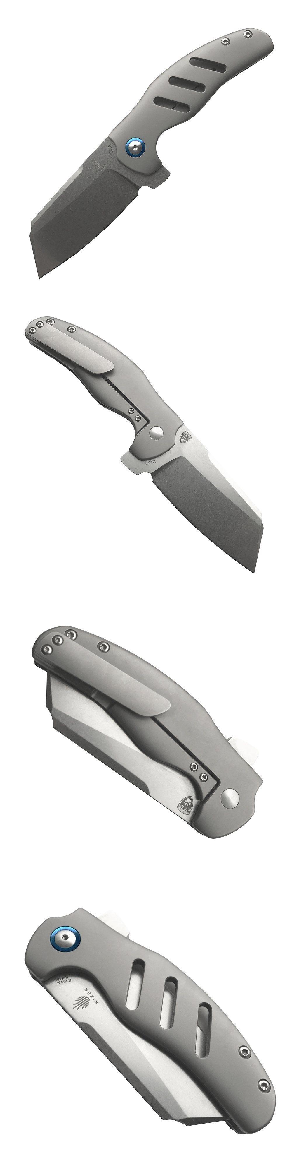Knife sets kizer ki sheepdog knives cc flipper frame
