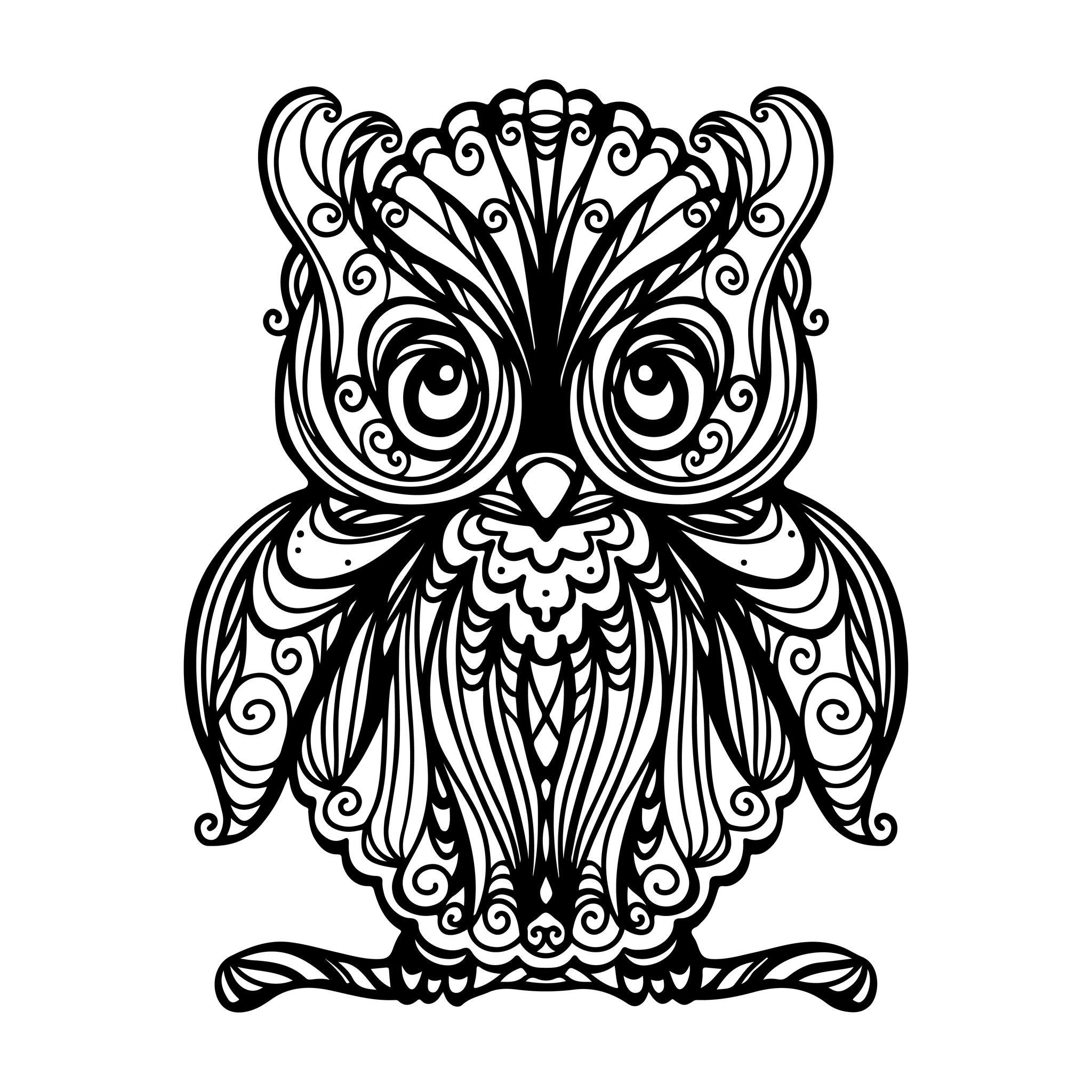 hibou recherche google hiboux pinterest owl and coloring