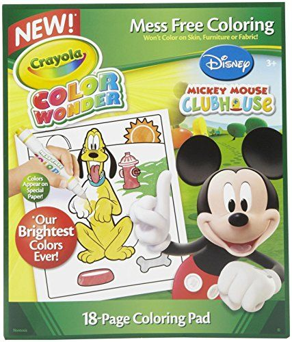 Crayola Color Wonder Disney Preschool Coloring Pad Check This Awesome Product By Going To The Link At The Image N Color Wonder Mouse Color Mess Free Painting