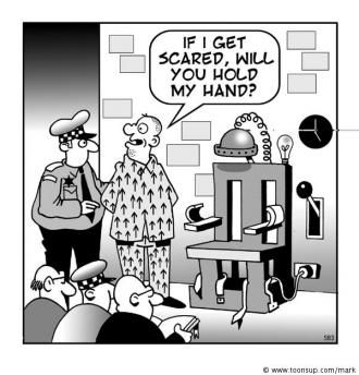 A Guy S On The Electric Chair Gallows Humor Funny Pictures Jokes