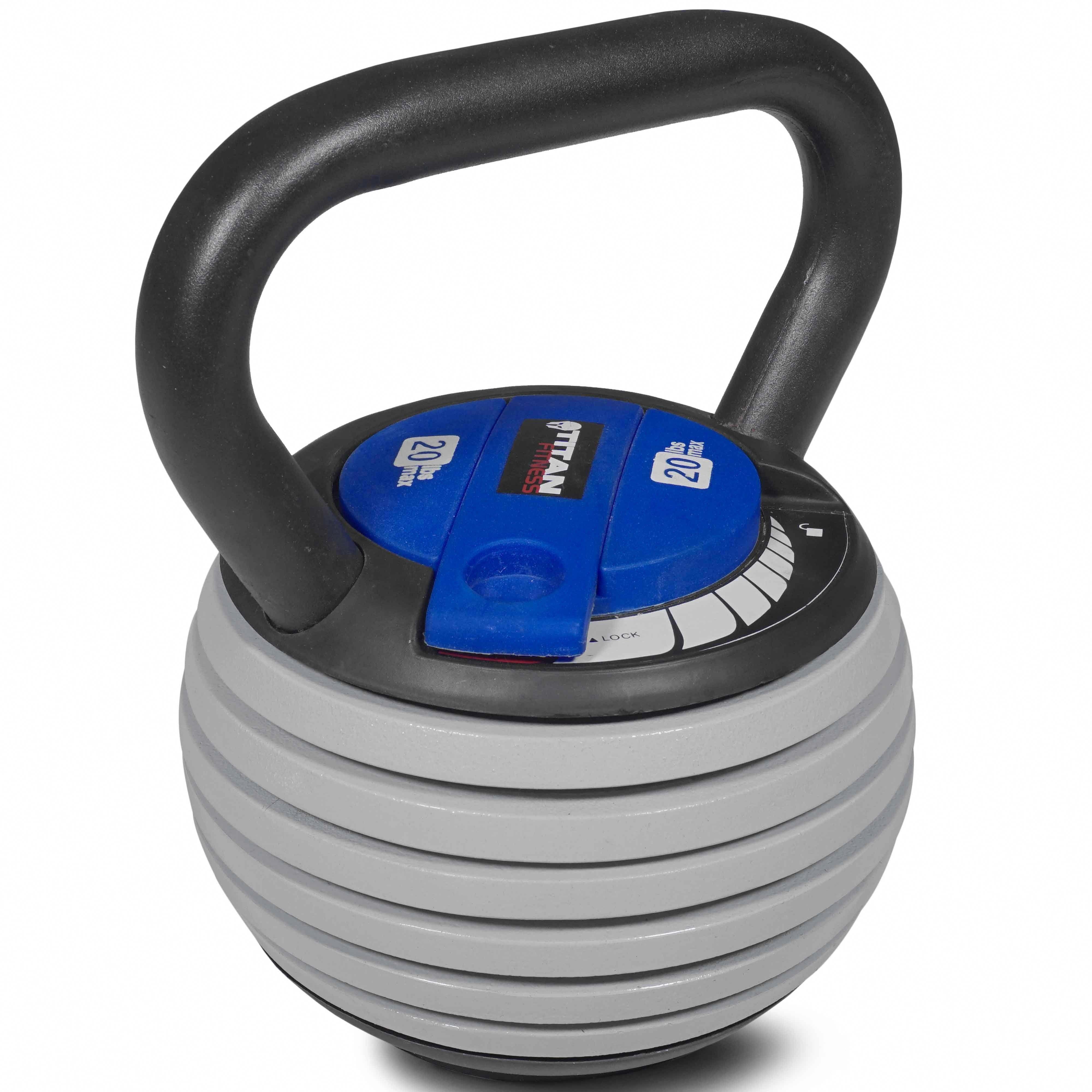 titan fitness 5 20 lb adjustable kettlebell weight lifting swingtitan fitness 5 20 lb adjustable kettlebell weight lifting swing workout kettlebellbeginner