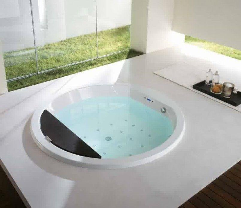 Bathroom, Fascinating Contemporary Master Bathroom Designs Round ...