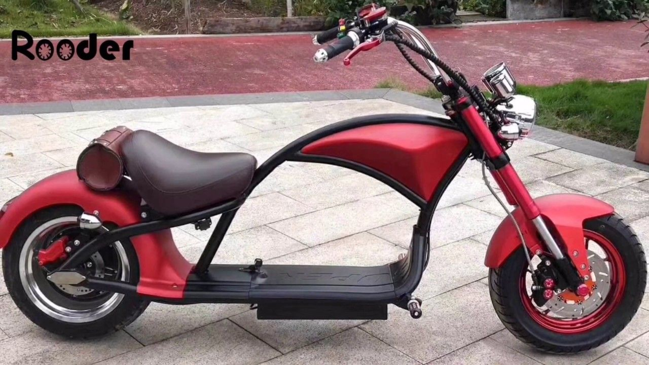 2019 Citycoco Electric Scooter Moto Eletrica Chopper Rooder Harley