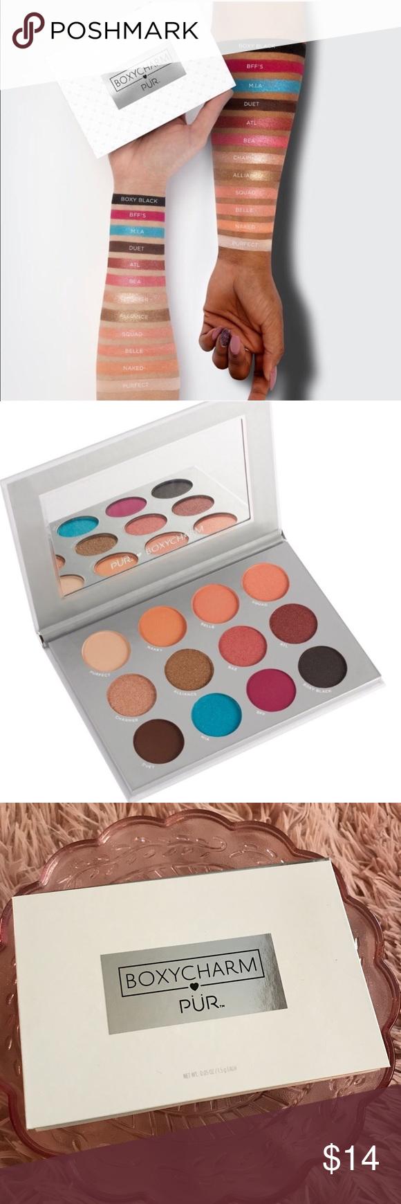 NWB Boxycharm Pur cosmetics new eyeshadow palette NWT