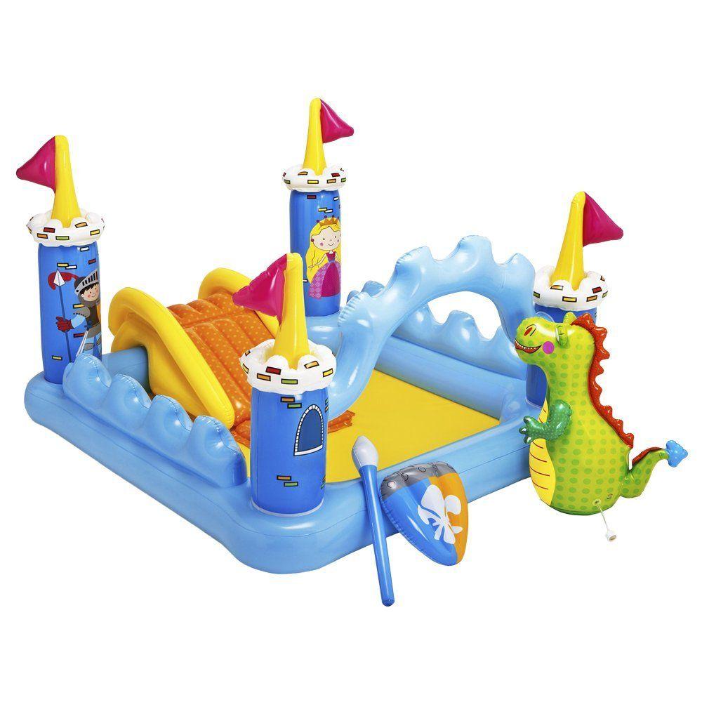 Aufblasbares Spielcenter Burg Fantasy Amazon De Spielzeug Tools