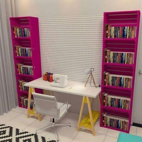 19 Jaw Dropping Furniture Made Of Crates - HomelySmart,  #Crates #Dropping #furniture #Homely...