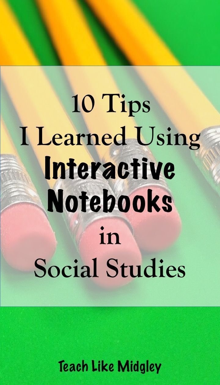 Interactive Notebooks in Social Studies Class
