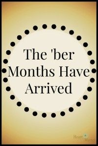 The Ber Months Have Arrived Ber Months Ber Months Quotes