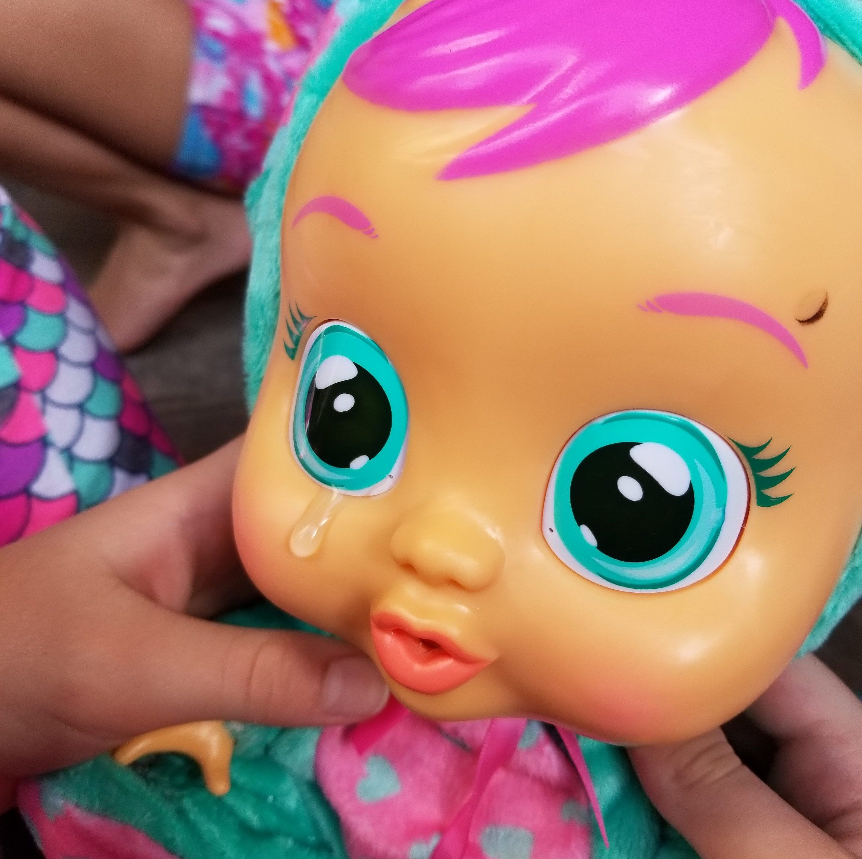 These Dolls Cry Tears For Real Cry Babies Dolls Review Baby Dolls Cry Baby Toy Cars For Kids